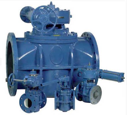API 594 API 6D Cast Iron Inverted Pressure Balanced Lubricated Plug Valve
