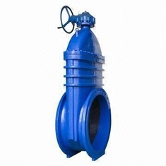 Double Flanged Resilient Seated Gate Valve With Non Rising Spindle , AWWA C 509 / BS5163