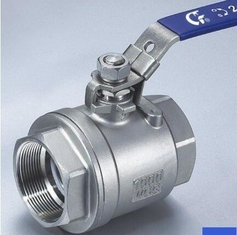 Carbon Steel High Pressure Ball Valves ASTM A 216 WCB Body And Ss ASTM A 276 F316 Stem