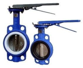 Manual Operated Wafer valve butterfly Ductile Iron GGG40 Body