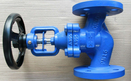 China Bronze Trim Cast Iron Flanged Globe Valve Nodular DN65 PN16  Part No. DIN 3202-F1 supplier