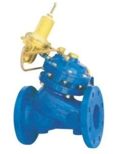China Flow Control Pressure Reducing Valves Double Chamber With Large Control Filter supplier