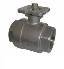 China Horizontal Floating Type Ball Valve / WCB Two Way Electric Ball Valve supplier