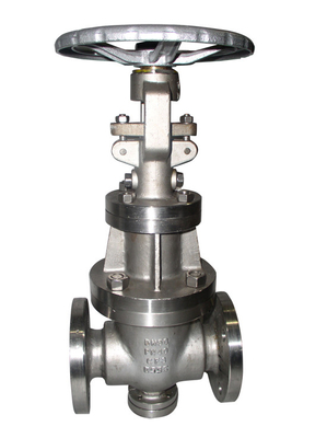 Full Port Cast Steel Gate Valve With Solid Wedge And Flexible Wedge
