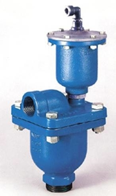 Cast Iron Push Button Air Release Valve Irrigation System Wear Resisntance