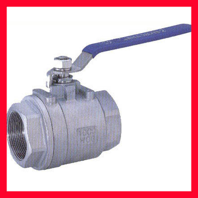 China Water Tank Floating Ball Valve Full Bore , Two Piece Design ANSI B 16.10,API 6D supplier