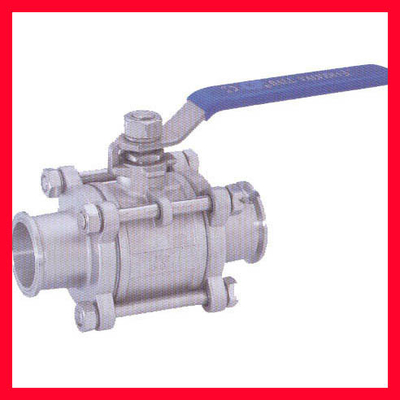 China API 608/ DIN/ BS/JIS Floating Ball Valve For Water , Gas , Oil Control supplier