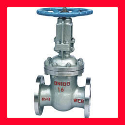 High Pressure Cast Steel Gate Valve For Oil , Gas , Water Flow Control