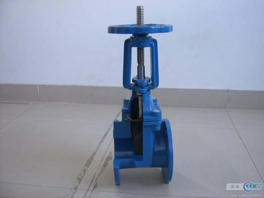 China High Pressure Resilient Seated Gate Valve With Smooth Continuous Bore Way supplier