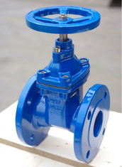 China Soft Sealing / Rubber Seat And Wedge Resilient Seated Gate Valve Full Bore supplier