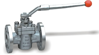 China ANSI PTFE Lubricated Plug Valve For Water , Cast Steel Sleeved Plug Valves supplier