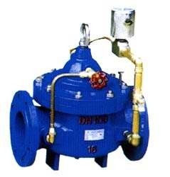 China Electronic Control Oil Pressure Reducing Valve / Water Power Operated Valves supplier