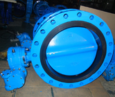 Custom Made Double Block And Bleed Butterfly Valve Water Supply / Distribution