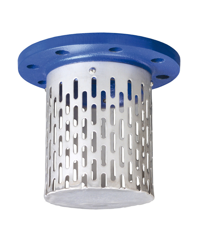 inlet filter flanged suction strainer stainless steel basket strainer - Basket Strainer