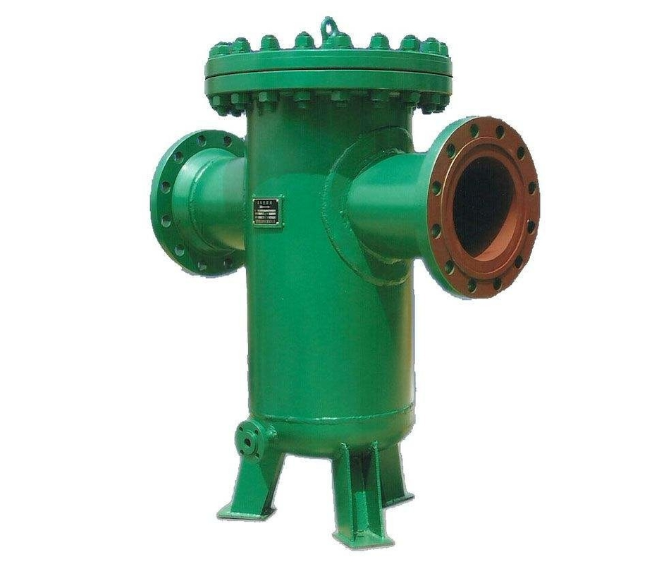 Sea water line strainer flanged end dn with basket type
