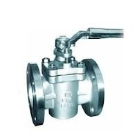 "Lubricated Plug Valve Cone valve 3 "" With SS316 And Coated Teflon / PTFE For Fluid"