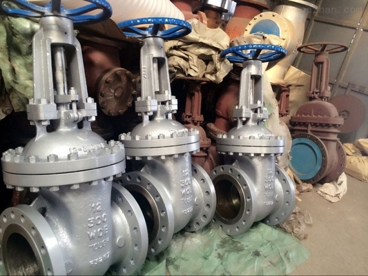 Customized Size Rising Stem Gate Valve , Industrial Water Gate Valve