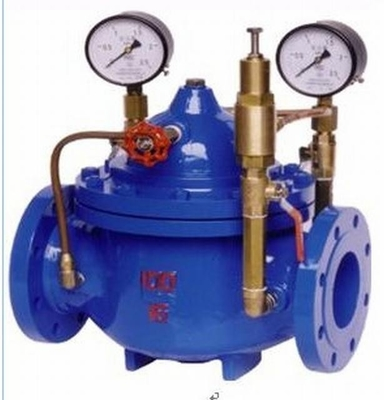 China Flanged Class 150  ANSI Pressure Regulating Valve / Pressure Release Valve For Water factory