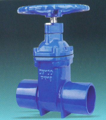 CI Sluice Gate 225 mm Dia Spigot Valve With Extension Spindle 1.5m Length