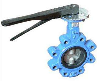 DN 100 PN 16 water butterfly valves SS Body By Lever Operated And Seat is EPDM
