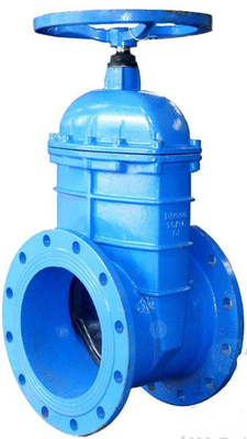 Large Diameter Resilient metal seated gate valve As DIN F4 and AS2129