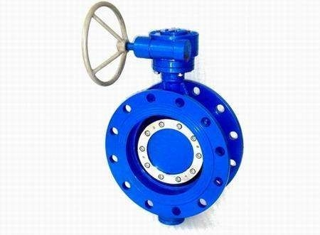 A216 WCB Double Eccentric Wafer Butterfly Valves S960 DN100 4""