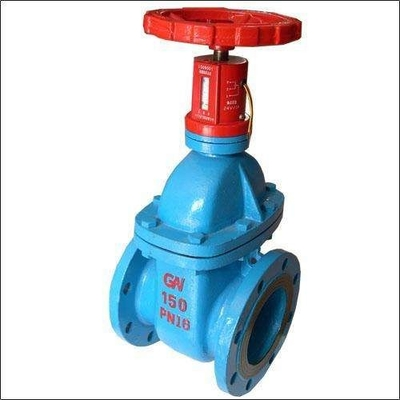 Sewage Resilient Seated Gate Valve Pn10 Light Weight With Corrosion Resistance
