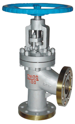 High Pressure Angle Globe Valve For Acid , Water , Sewage Control