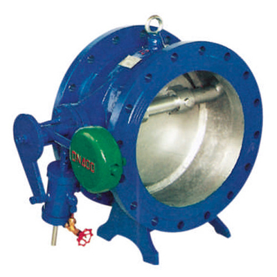 Wafer Carbon Steel Swing Check Valve Ductile Iron With Zinc Plated Disc