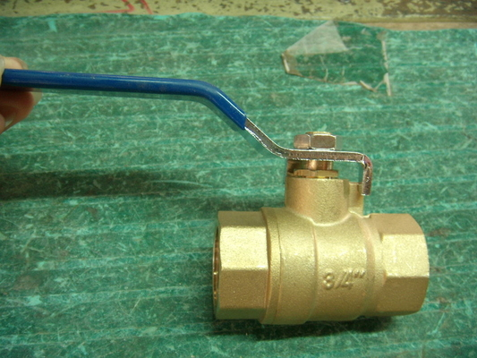 Full Bore Type Floating Ball Valve For Cold Water Tank Copper Material