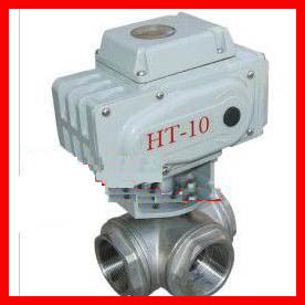 Vertical 3 Way Ball Valve / Stainless Steel Ball Check Valve Durable