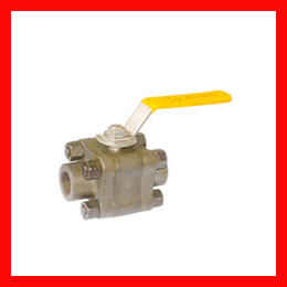NACE Floating Ball Valve Cast Steel / Ductile Iron / Stainless Steel Body