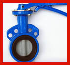China Triple Offset Butterfly Control Valve / OEM Automated Butterfly Valve factory