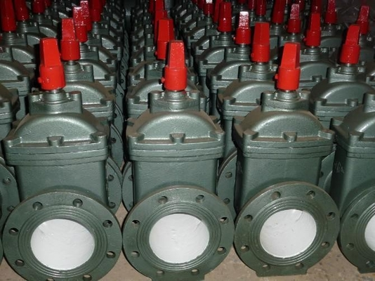 Electric Resilient Wedge Gate Valve / Flanged Water Supply Gate Valve