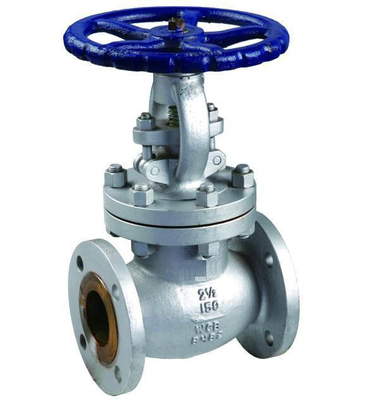 DN15 ~DN600 Size Flanged Globe Valve With Stainless Steel Stem High Pressure
