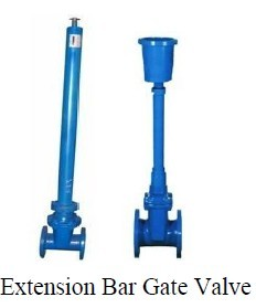 Resilient Seated 3 4 Inch Gate Valve With Extension Stem