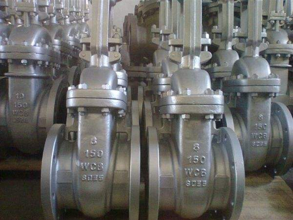 150 Ansi Raised Face Cast Steel Gate Valve With Flange