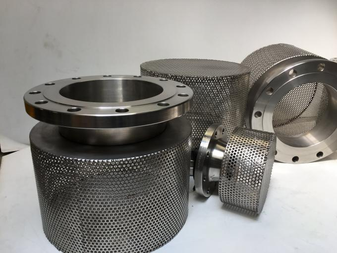 Thread Connect Suction Pipe Strainer , Stainless Steel Basket Strainer